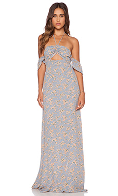 FLYNN SKYE Err Night Maxi Dress in Sherbert Daisy