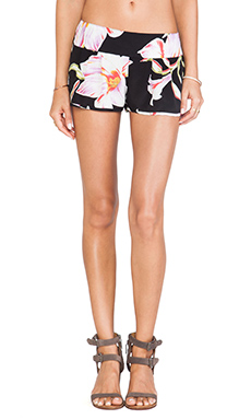 FLYNN SKYE Shorty Shorts in Midnight Lily