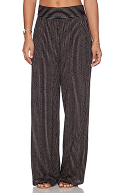 FLYNN SKYE High Wasted Pant in Night Stripe