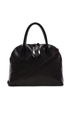 Foley + Corinna Cassis Satchel in Black