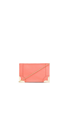 Foley + Corinna Framed Petite Crossbody in Coral