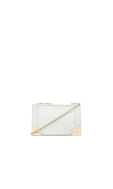 Foley + Corinna Framed Petite Crossbody in White
