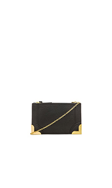 Foley + Corinna Framed Petite Crossbody in Black