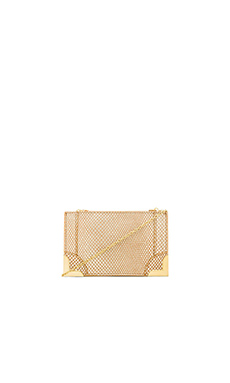 Foley + Corinna Framed Petite Crossbody in Gold Dust