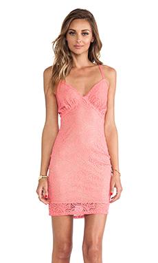 For Love & Lemons Hot Texas Summer Dress in Bubblegum Pink