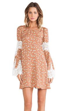 For Love & Lemons Festival Dress in Country Floral