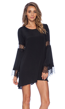For Love & Lemons Festival Dress in Black