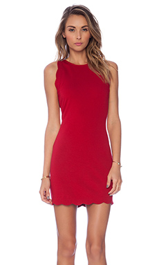 For Love & Lemons x REVOLVE Rosarito Dress in Red
