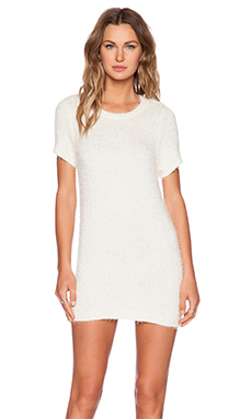 KNITZ by For Love & Lemons Spring Fling Dress in Ivory