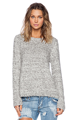 KNITZ by For Love & Lemons Solstice Sweater in Heathered Gray