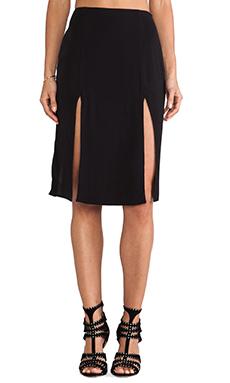 For Love & Lemons Pepe Skirt in Black