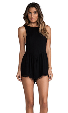 For Love & Lemons Chica Jumper in Black
