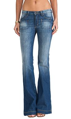 Frankie B. Jeans Carly Hi Rise Wide Leg in Japan Blue