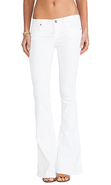 Frankie B. Jeans Frankie Flare in White