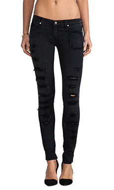 Frankie B. Jeans More Loved Skinny's in Black