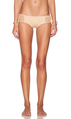 Frankie's Bikinis Koa Bikini Bottom in Nude