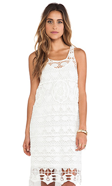 Free People Mystical Chemical Lace Dress in White