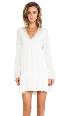 Free People Gentle Dreamer Dress in Gardenia