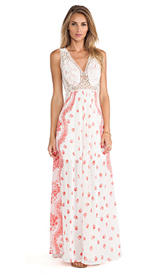 Free People Victorian Love Dress in Magnolia Combo