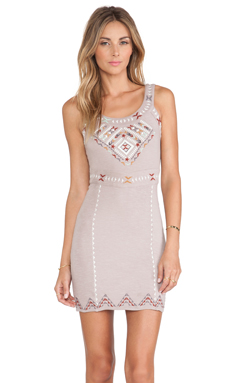 Free People Song of South Dress in Taupe