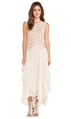Free People French Court Slip in Tea