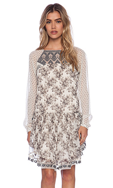 Free People Elsie Dress in Magnolia Combo