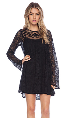 Free People Rodeo Bella Dress in Black