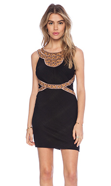 Free People Nefertiti Bodycon Dress in Black