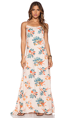 Free People Star Chasing Slip in Hibiscus Combo