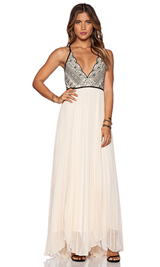 Free People Bell of The Ball Maxi Dress in Tea