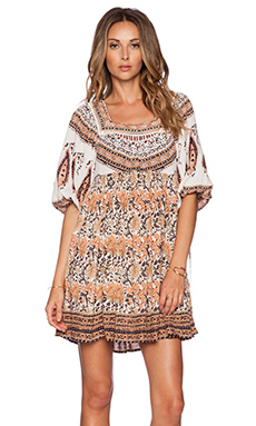 Free People Midsummers Dream Dress in Ivory Combo
