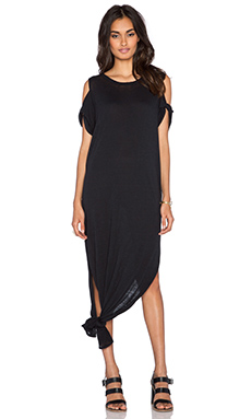 Free People Solid Kick ARound Maxi in Union Black