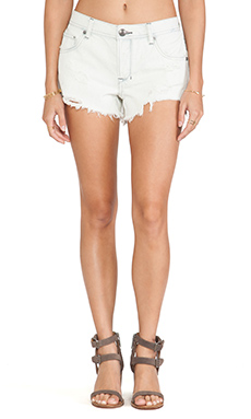 Free People Sharkbite Short in Birch Wash