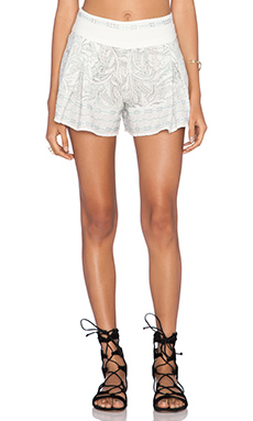 Free People Heart It Skort in Ivory Combo