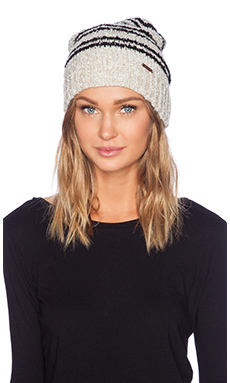 Free People All This Time Beanie in Ivory Combo