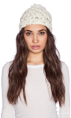 Free People Only For You Beanie in Ivory