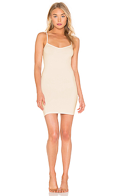 Free People Seamless Mini Slip in White