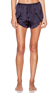 Free People Cascading Petal Short in Indigo