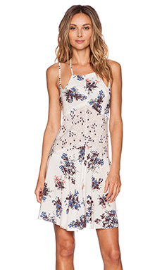 Free People Crescent Slip in Pearl Combo