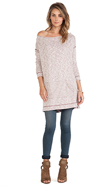 Free People Mexicali Pullover in Pomegranate