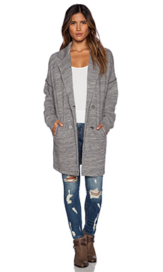 Free People Casual Friday Blazer in Grey Heather