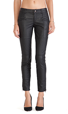 Free People Vegan Seamed Skinny in Black