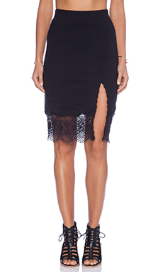 Free People Story Teller Skirt in Black