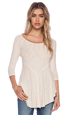 Free People Weekends Layering Top in Tea
