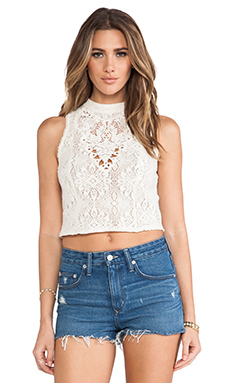 Free People Greatest Hits Top in Ivory