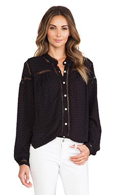 Free People Everyday Every Girl Top in Black