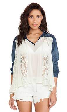 Free People Swing Swing Top in Cream