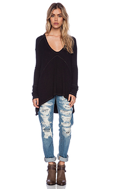 Free People Drippy Thermal in Black