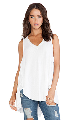 Free People Monroe Tank in White