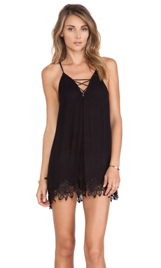Free People Wicked Spell Dress in Black
